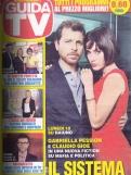 COVER GUIDA TV GABRIELLA PESSION