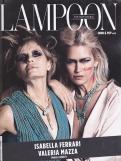 COVER THE FASHIONABLE LAMPOON ROBERTA RUIU, ENRICO OETIKER, MARIANNA DI MARTINO, JANE ALEXANDER, FRANCESCA CAVALLIN SERVIZIO INTERN cover